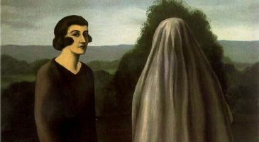 """Ilustración: """"The invention of life"""", Rene Magritte"""